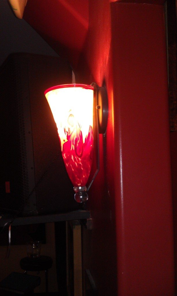 Cone Wall Sconce - side view