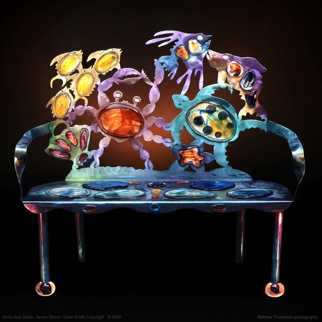 Crab Sea Life Bench