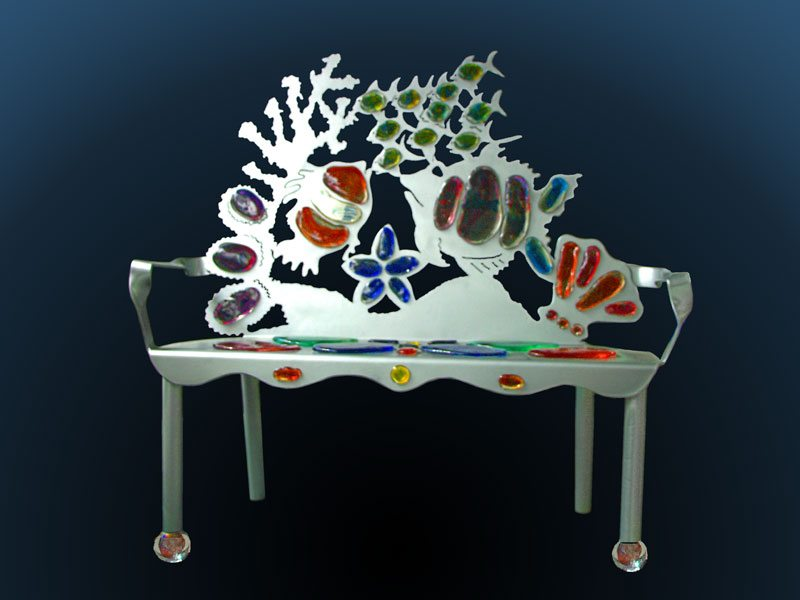 Grouper Sea Life Bench