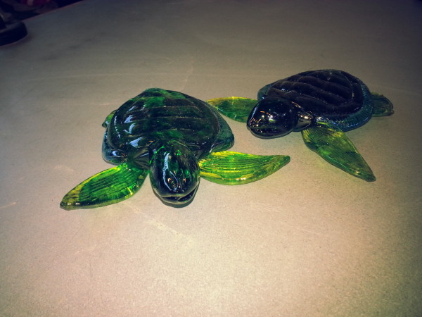 Handblown Glass Sea Turtles