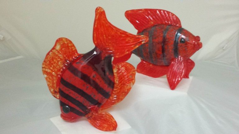 Bright Orange Fish
