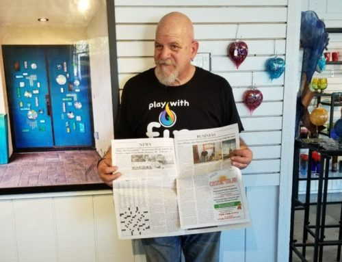 Stone and Glass featured in the Escondido Times Advocate