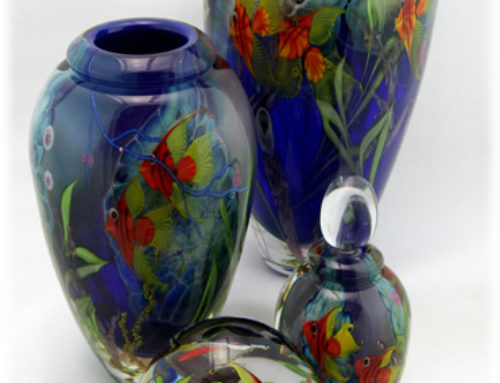 Painting on Hot Glass, the Art of Torch Work