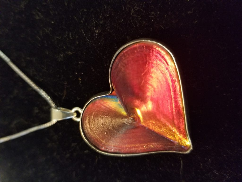 Fire in My Heart Pendant